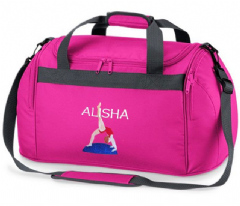 Personalised GYMNAST Gymnastics BAG Mini Holdall  BG200